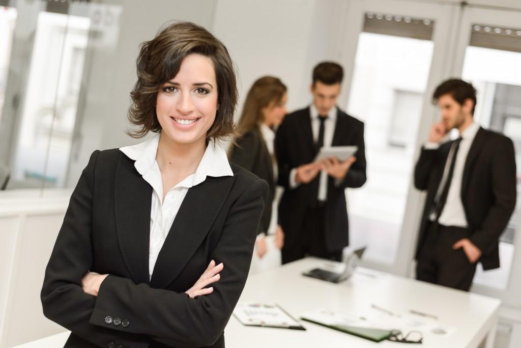 Femme chef d'entreprise